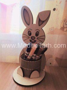 جا مدادی طرح خرگوش