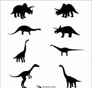 فایل برش لیزر دایناسورها