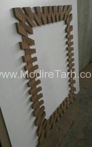 طرح قاب چوبی