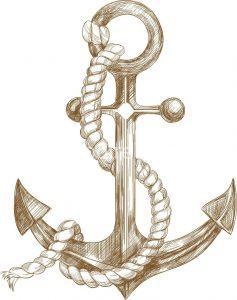 لوگوی لنگر کشتی