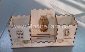جا مدادی مدل قلعه